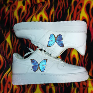 Custom Nike, Butterfly Shoes, AF1